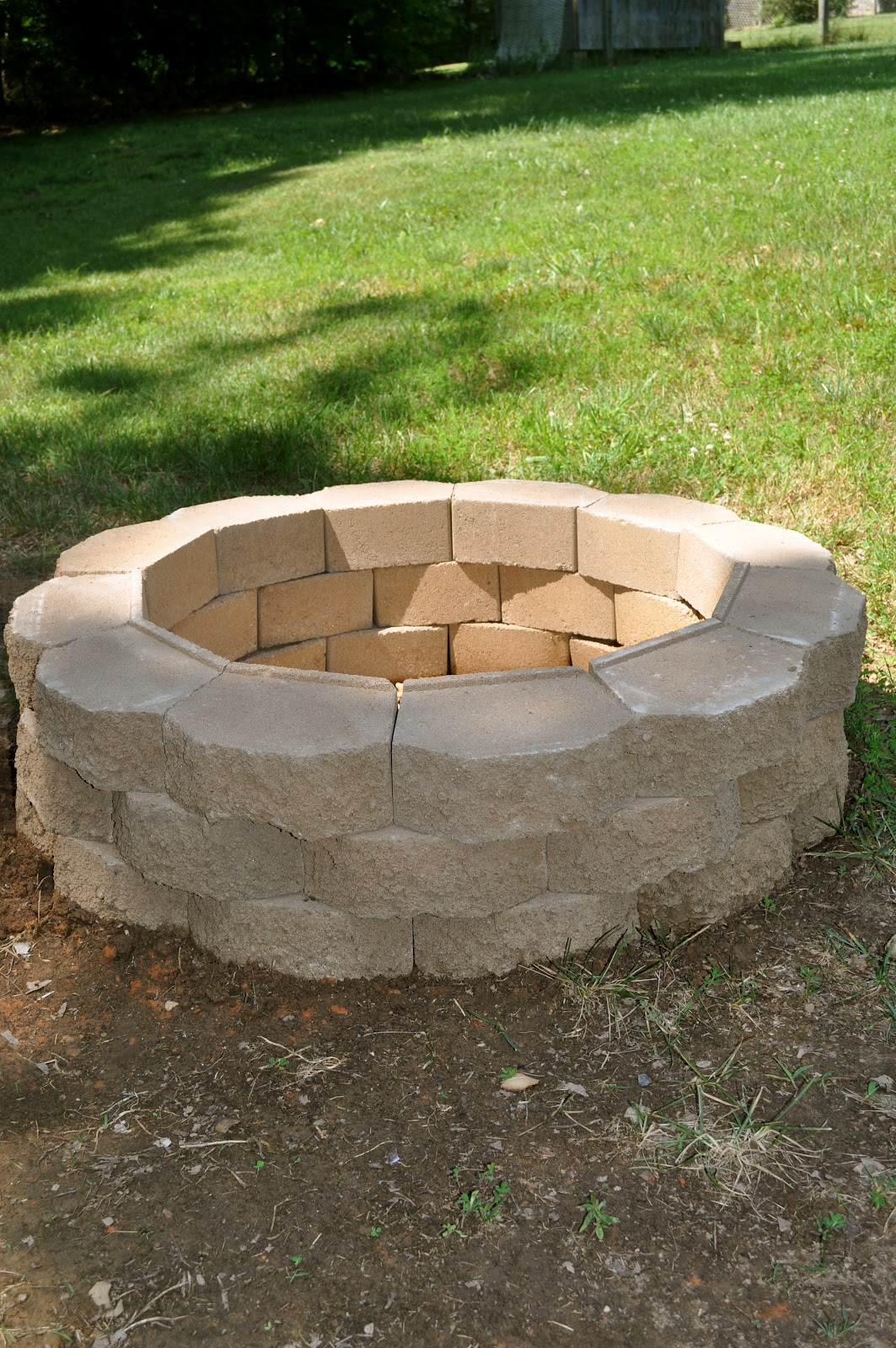 Round Diy Outdoor Fire Pit