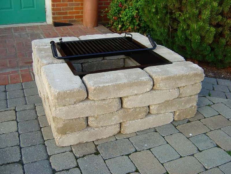 Swell Square Diy Outdoor Fire Pit Rickyhil Outdoor Ideas Diy Download Free Architecture Designs Ferenbritishbridgeorg