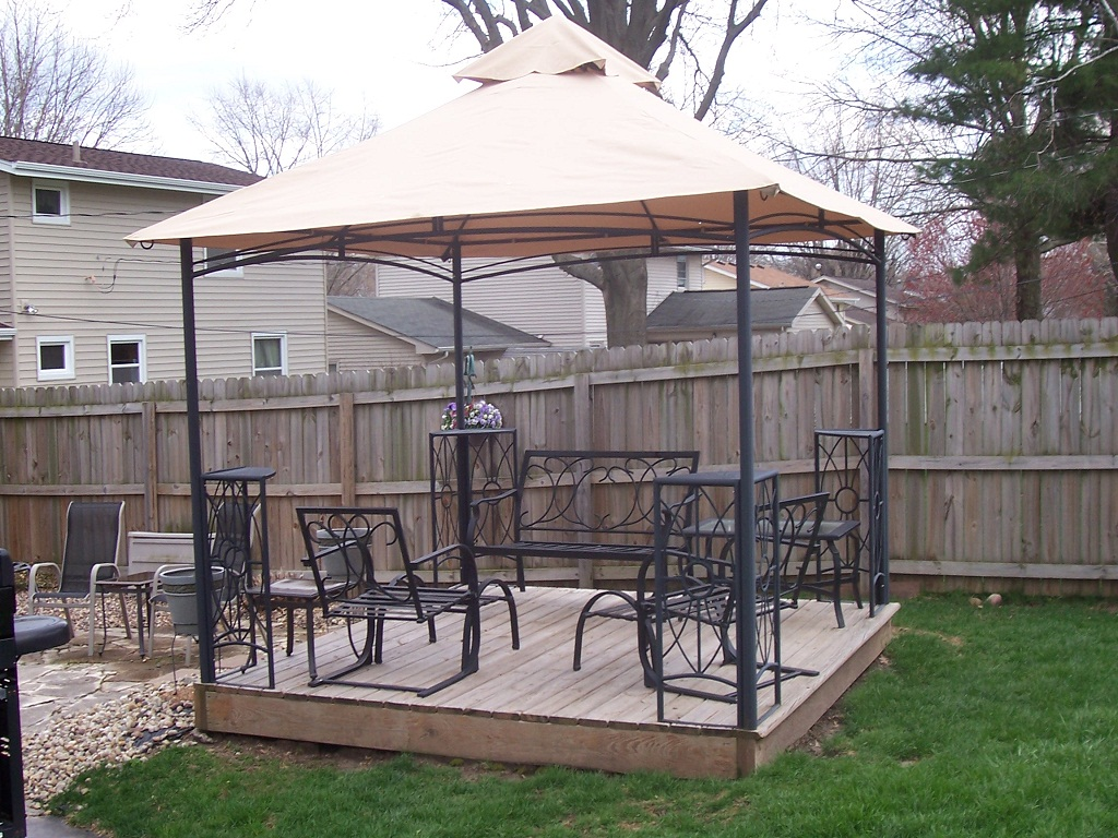 Garden Treasures Pergola Reviews Rickyhil Outdoor Ideas
