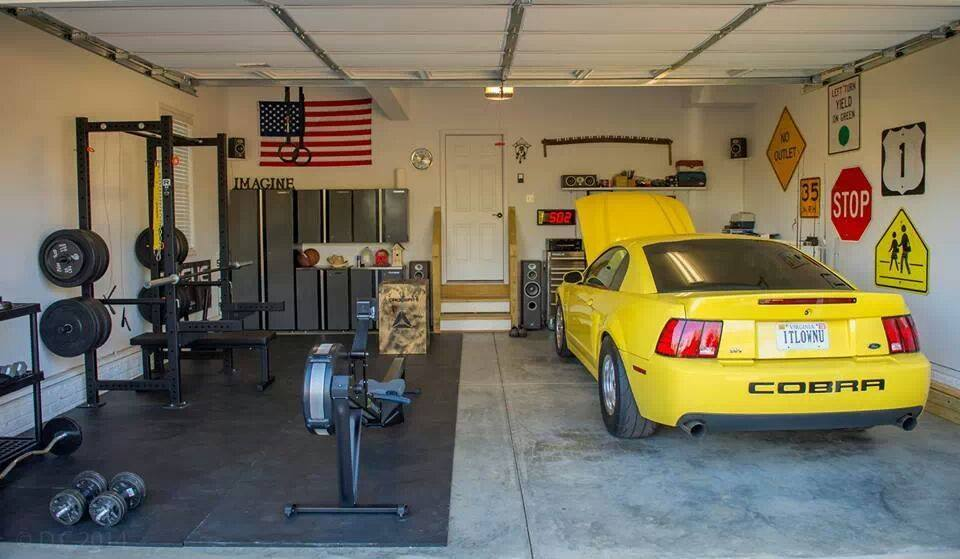 Diy garage gym ideas rickyhil outdoor ideas very useful garage