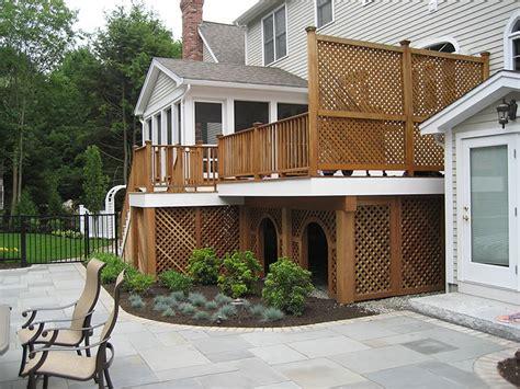 Custom Decks And Patios Rickyhil Outdoor Ideas Tips To