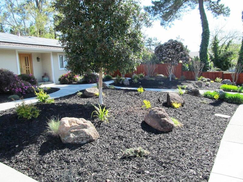 Low Water Front Yard Landscape Design Rickyhil Outdoor Ideas