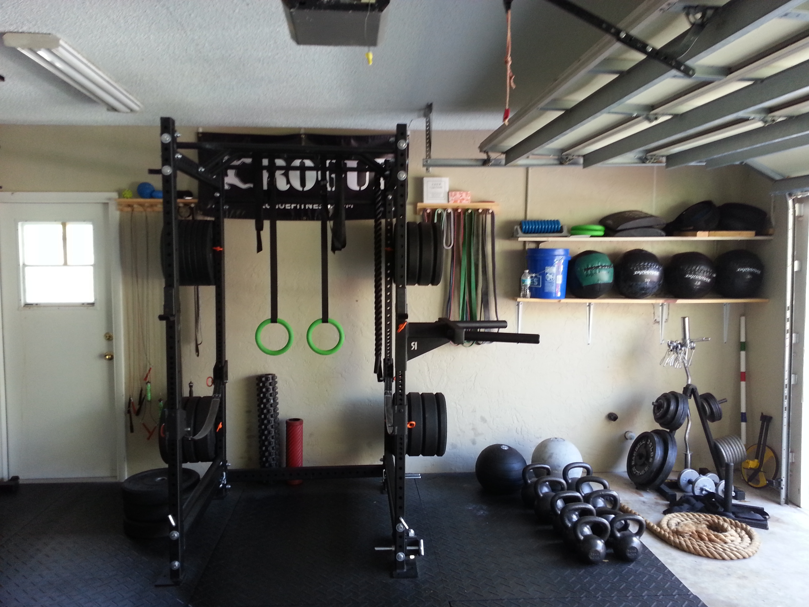 Diy garage gym ideas : rickyhil outdoor ideas very useful garage