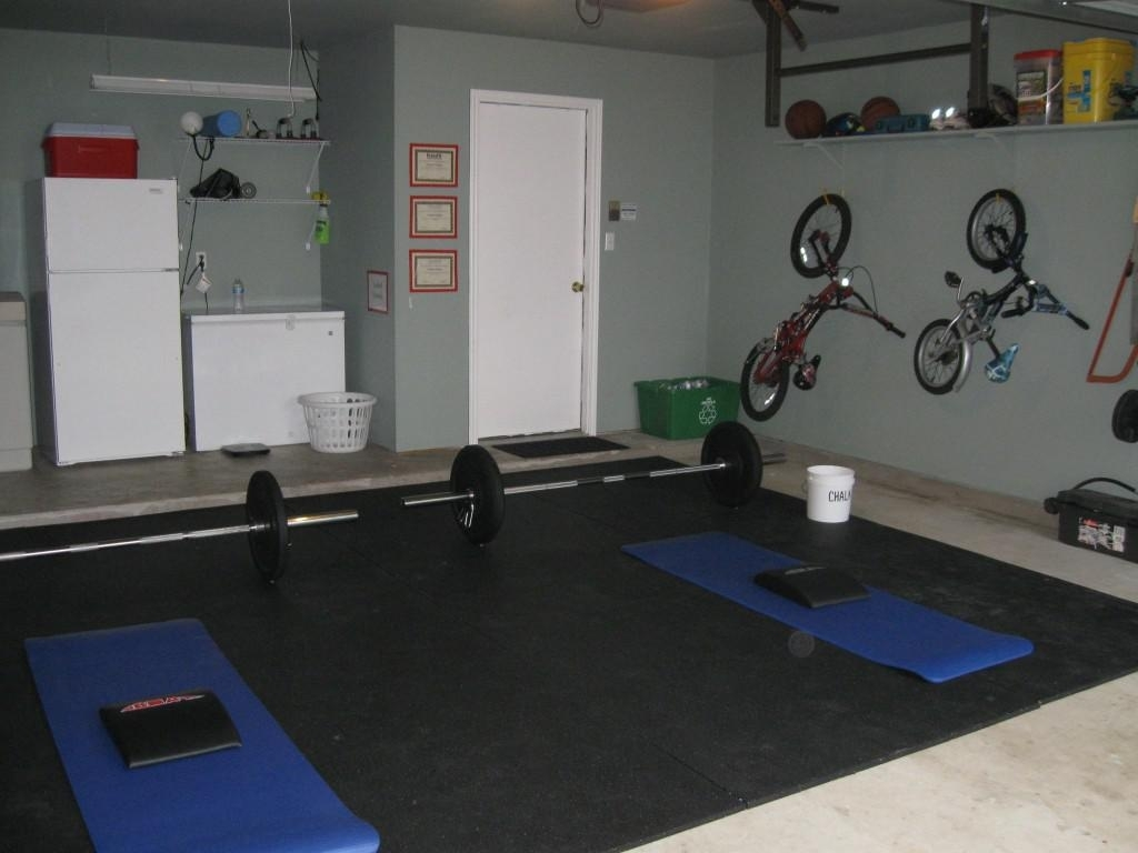 Garage gym decorating ideas rickyhil outdoor ideas very useful